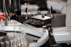 Steriline isolators equipment. Robotic asepting compounding system Stock Photo