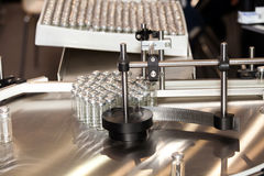 Steriline isolators equipment. Robotic asepting compounding system Stock Images