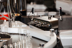 Steriline isolators equipment. Robotic asepting compounding system, steriline isolators equipment Stock Photos