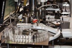 Steriline isolators equipment. Robotic asepting compounding system, steriline isolators equipment Stock Images