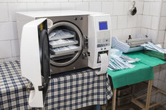 Sterilize device Royalty Free Stock Images