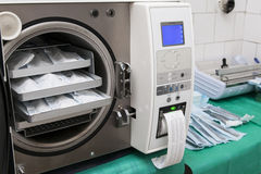 Sterilize device Royalty Free Stock Photos