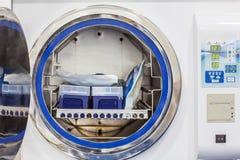 Sterilizing laboratory material Royalty Free Stock Image