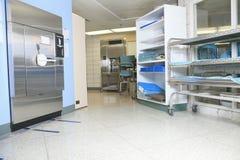 Sterilizzazione medica nell'ospedale Fotografia Stock Libera da Diritti