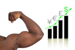 Sterke Economie Stock Fotografie