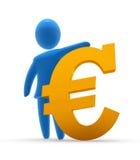 Sterke Euro Royalty-vrije Stock Fotografie