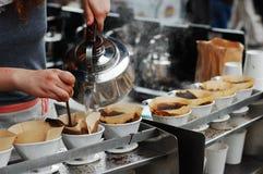 Sterke gebrouwen koffie Royalty-vrije Stock Afbeelding