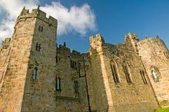 Sterke muren van het kasteel Stock Foto