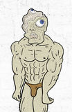 Sterke mutant royalty-vrije illustratie