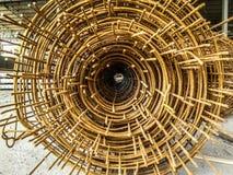 Sterke rebar voor bouw stock fotografie