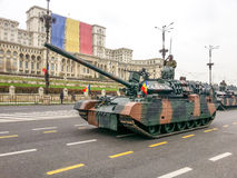 Sterke Roemeense tank Stock Foto's