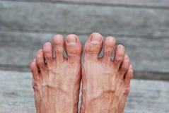 Sterke voeten Royalty-vrije Stock Foto