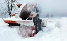 Sterke winden en sneeuw Stock Afbeeldingen
