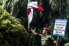 STERKSTE HET LEGERmens VAN INDONESIË royalty-vrije stock foto's