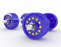 Sterkte van Europa Stock Foto's