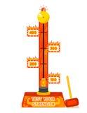 Sterktemeetapparaat Test uw spel van het sterktevermaak stock illustratie
