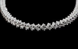 sterling ожерелья серебряный Стоковые Фото
