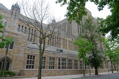 Sterling Memorial Library, Yale University, CT, USA royalty free stock photo