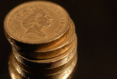 Sterling Money Royalty Free Stock Images