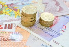 Sterling money Stock Image