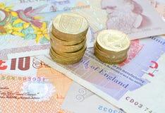 Sterling money Stock Image