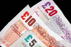 Sterling Notes Stock Photography