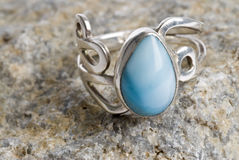 Sterling Silver Ring Stock Images
