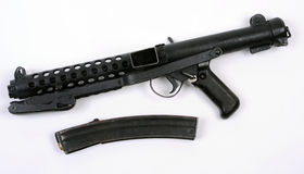 Sterling submachine gun Royalty Free Stock Images