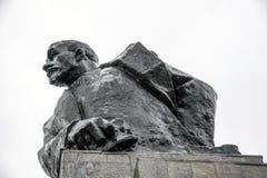 Sterlitamak 对列宁的纪念碑 库存照片