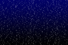 Stern auf dem dunklen Himmel Lizenzfreies Stockbild