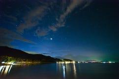 Stern auf dem Strand stockfotos