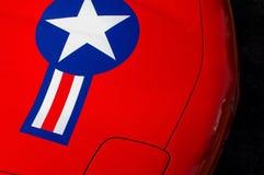 Stern auf einem Auto Lizenzfreies Stockbild