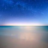 Stern auf Ozean Stockbild