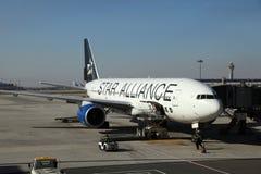 Stern-Bündnis-Flugzeuge Stockbilder