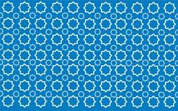Stern-Blau-Muster Vektor Abbildung
