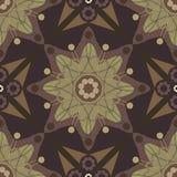 Stern-Blumen-Russland-Art nahtloses Pattern_eps Stockfotos