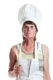 Stern Chef Stock Images