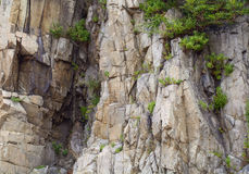 Stern cliffs Stock Photo