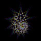 Stern der Spirale Lizenzfreies Stockbild