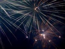Stern des neuen Jahres Stockbild