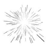 Stern-Explosion lizenzfreies stockbild