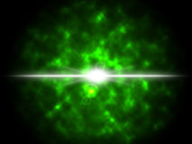 Stern-Explosions-Hintergrund-Shows, die im Raum explodieren Lizenzfreies Stockfoto