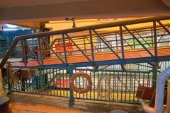 Stern-Fähren-Pier Stockfotos