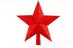 Stern für Weihnachtsbaum Lizenzfreie Stockbilder