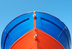 Stern of fishing ship Stock Photography
