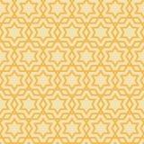 Stern-geometrisches Muster Stockbilder