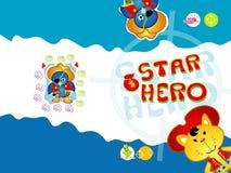 STERN-HELD Lizenzfreies Stockfoto