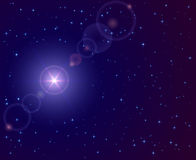 Stern im Himmel Lizenzfreies Stockbild