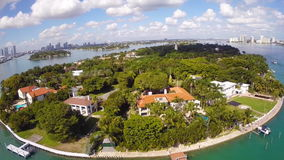 Stern-Insel-Miami Beach stock footage