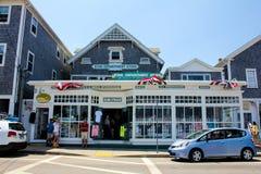 Stern-Kaufhaus auf historischer Block-Insel, RI Lizenzfreie Stockbilder